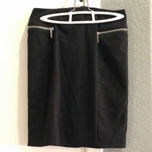 Black Michael Kors Pencil Skirt
